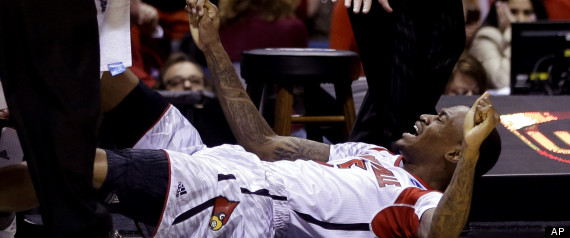 Rick Pitino, Kevin Ware, injury, injured