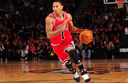 Derrick Rose won the MVP award in 2011.