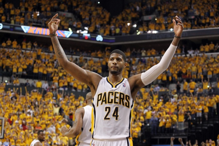 Paul George just agreed to a new five-year deal with the Indiana Pacers.