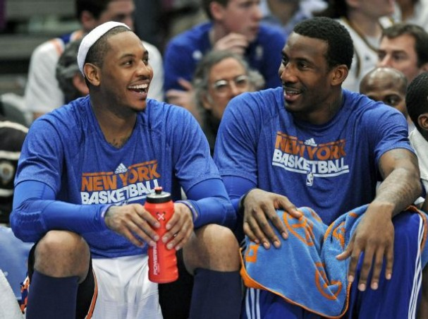 Carmelo never had the opportunity to play with a healthy Stoudemire.