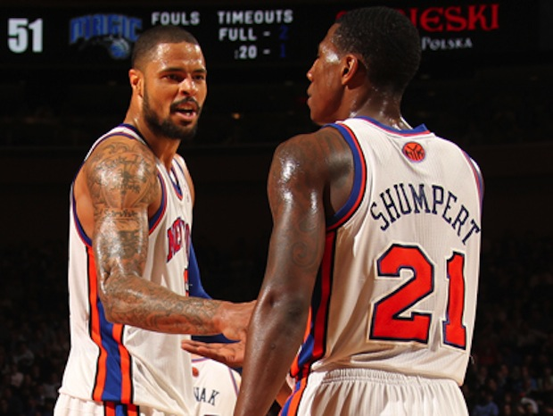 Jackson received virtually nothing in return for Chandler and Shumpert.