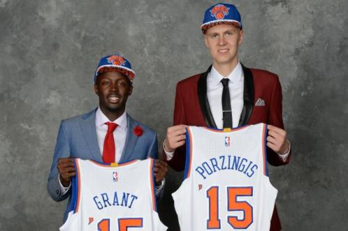 Rookies Kristaps Porzingis and Jerian Grant hope to change the course of the franchise.