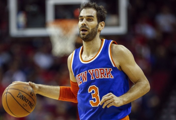 Jose Calderon's days as a starter may be numbered.