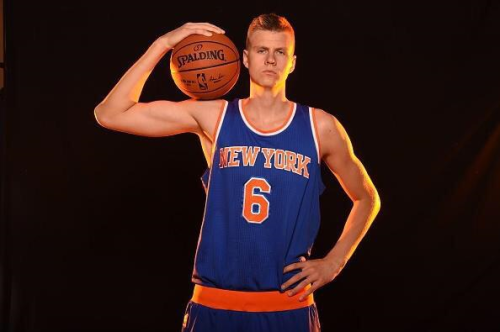 Rookie Kristaps Porzingis entered the season as a mystery to Knicks fans.